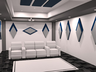 Auralex HD-Cinema Diamond-Panels