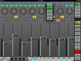 Logic Studio 9 screen
