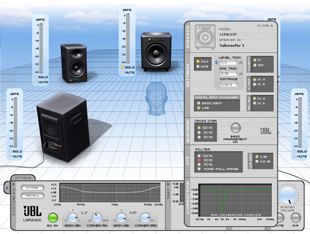 JBL LSR4300 Control Center Software
