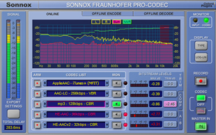 Sonnox Fraunhofer Pro-Codec Plug-In v2