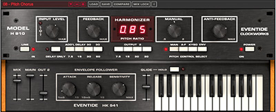 Eventide H910 Harmonizer plug-in
