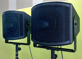 Fulcrum Acoustic CCX12 loudspeakers
