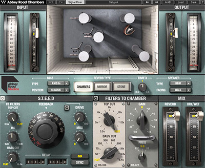 Waves Abbey Road Chambers plug-in