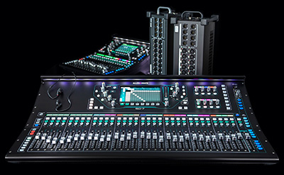 Allen & Heath SQ monitor line-up