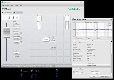 Genelec GLM 3.2.0 software