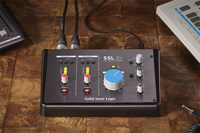 Solid State Logic SSL 2+ interface