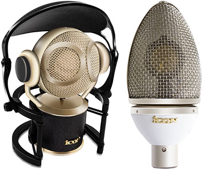 iCon Pro Audio Martian and Cocoon mics