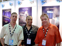 Gordon Smart (API), Laz Harris (APMG) and Dan Zimbelman (API)