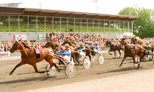 Romme Trotting racetrack