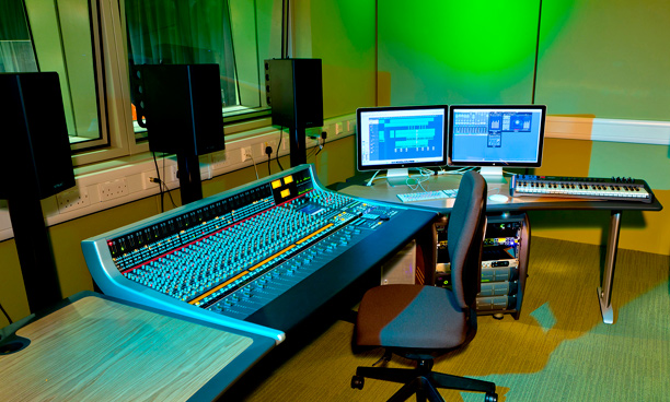 The Performance Hub recording studio