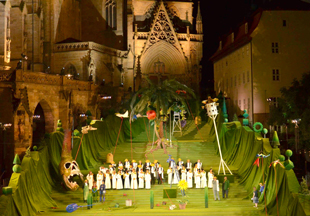 The Magic Flute at Domstufen Festspiele