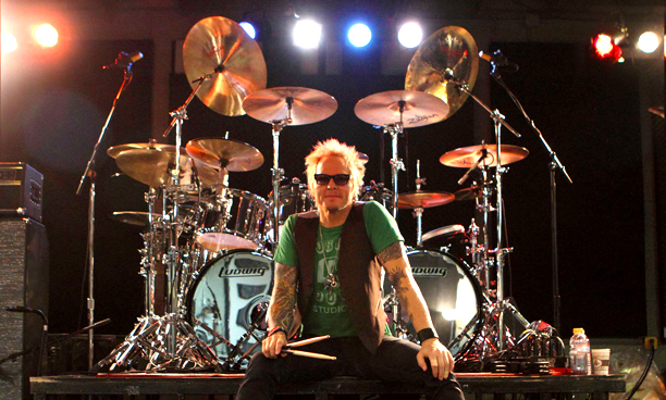 Miking Matt Sorum S Allstar Drum Kit
