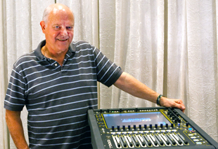 Australian sound engineer Ernie Rose