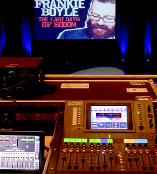 FOH for Frankie Boyle