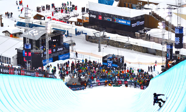 Winter X Games Superpipe