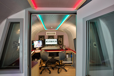 Airstream Recording Studio