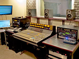 Bassmental exits the box with API mixing desk