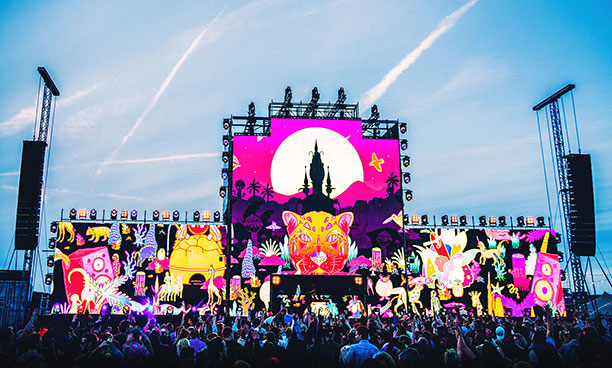 Wild Life Festival stage