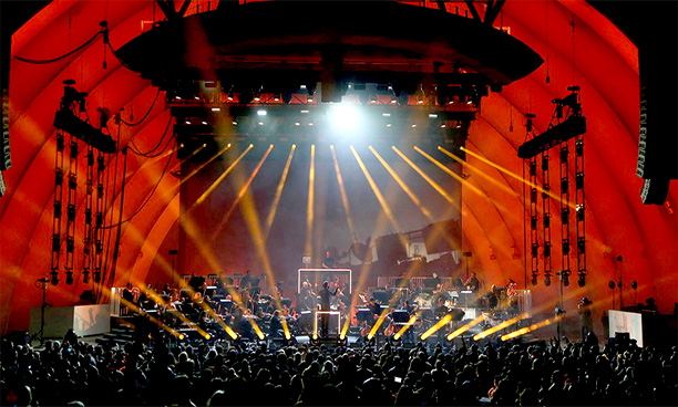 Mymix takes orchestral role at hollywood bowl for Ibiza classics heritage orchestra