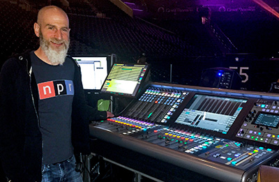Imagine Dragons FOH engineer, Scott Eisenberg