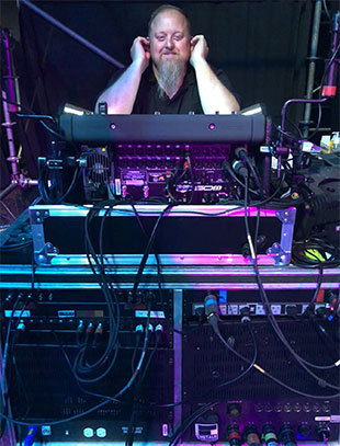 Kevin McCarthy at the compact DiGiCo SD11i