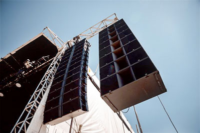 STS deployment of L-Acoustics K2