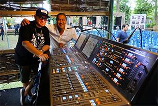 Yamaha Rivage showcased at Bali UVJF festival