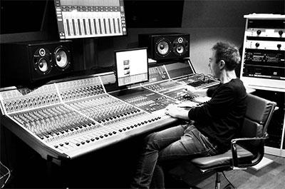 Kazbar rocks studio build