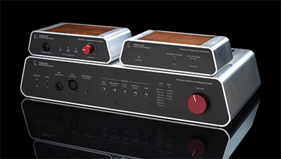 The Precision Headphone Amplifier, Precision Phono Pre-Amplifier and Precision Digital-to-Analog Converter.