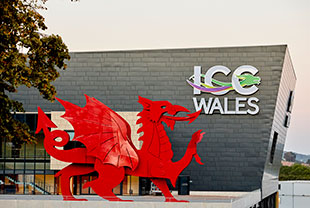 The £84m International Convention Centre Wales