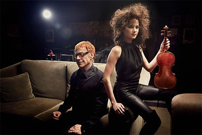 Sandy Cameron and Danny Elfman