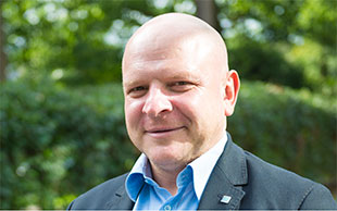 Biamp Europe General Manager, Kris Vermuyten.