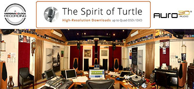 Auro-3D releases on the Spirit of Turtle