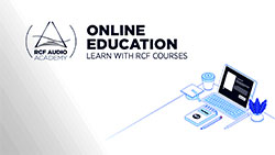RCF takes Audio Academy education online