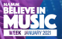 2021 Namm Show gives way to Believe in Music week