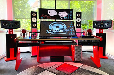 Celik's Slate Raven MTZ console and Amphion monitoring