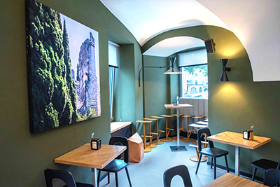 Centrale Caffe renovation brings Martin Audio into play
