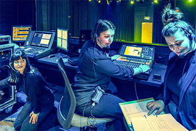 Riedel's Bolero provides communications for WAAPA performance crews.