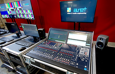 Lawo mc²36 console in the new 4K OB truck