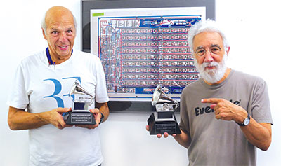 Richard Factor and Tony Agnello – 2018 Technical Grammy Award recipients for contributions of outstanding technical excellence to the recording field
