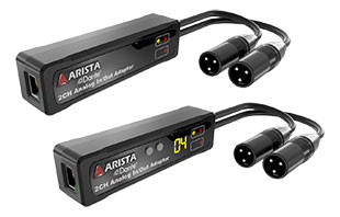 ARS-0002-A00 Dante-to-analogue interface and ARS-0002-A01 interfaces