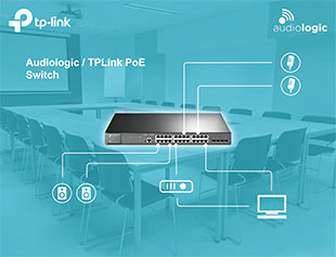 Audiologic and TP-Link devise business-class A/V