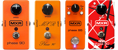MXR's Phase 90 in various guises