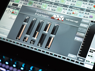 SSL Live flanger plug-in