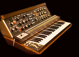 Model D Minimoog with 1150 Ribbon Controller