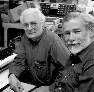 Bob Moog and Don Buchla