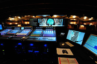 DiGiCo SD7T mixing console