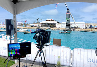 Broadcasting The America's Cup