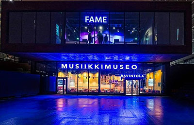 Finnish Music Hall of Fame in Helsinki