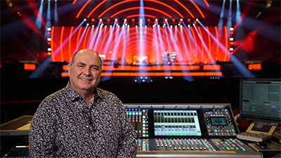 Denis Savage, Celine Dion's Tour Manager and FOH Engineer